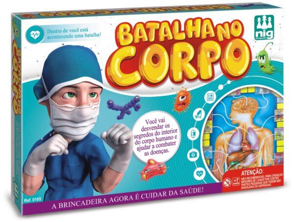 BATALHA NO CORPO - CAIXA | NIG BRINQUEDOS
