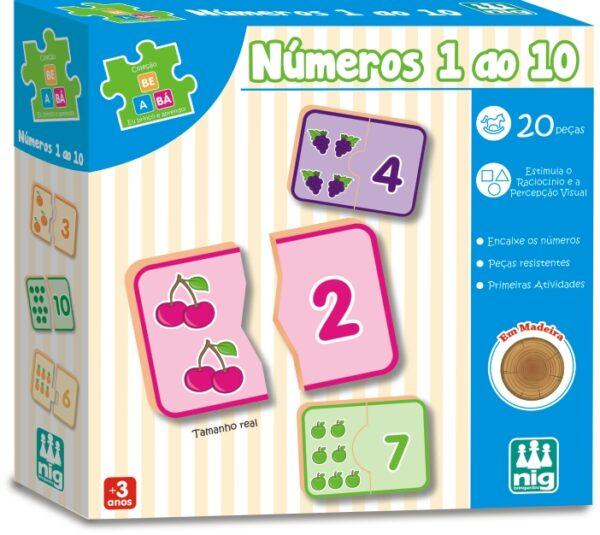 Números 1 ao 100 - Caixa | Nig Brinquedos