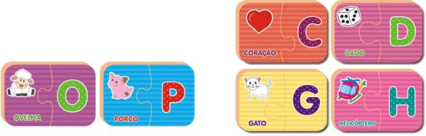 Descobrindo o Alfabeto - Interior | NIG Brinquedos