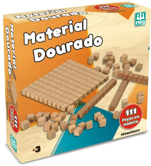 MATERIAL DOURADO II INTERIOR | NIG BRINQUEDOS