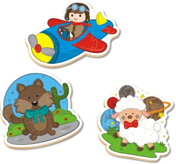 QC Progressivo Pequeno Príncipe - Interior | NIG Brinquedos