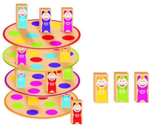 Equilibra Bebês Interior - Nig Brinquedos
