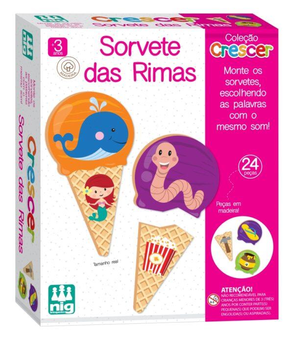 Sorvete de Rimas - Caixa | Nig brinquedos