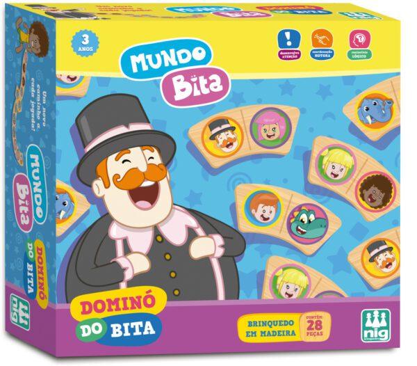 DOMINÓ BITA - CAIXA | NIG BRINQUEDOS