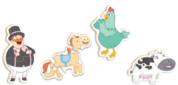 QC BABY BITA E OS ANIMAIS - INTERIOR | NIG BRINQUEDOS