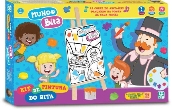KIT DE PINTURA - CAIXA | NIG BRINQUEDOS