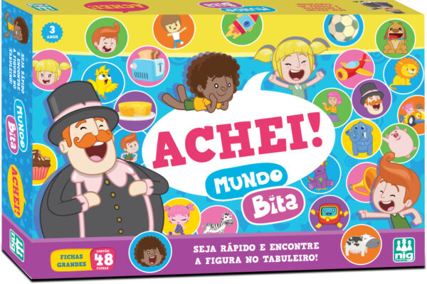 ACHEI! - CAIXA | NIG BRINQUEDOS