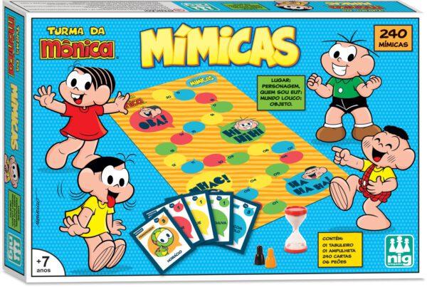 MIMICAS TURMA DA MÔNICA - CAIXA | NIG BRINQUEDOS