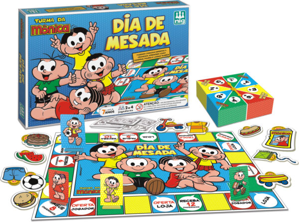 DIA DE MESADA TURMA DA MÔNICA | NIG BRINQUEDOS