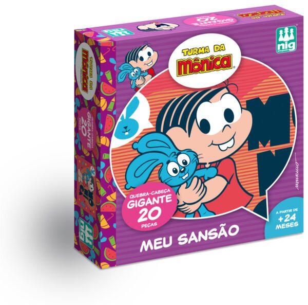 QC GIGANTE - MEU SANSÃO - CAIXA | NIG BRINQUEDOS