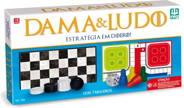 DAMA & LUDO - CAIXA | NIG BRINQUEDOS