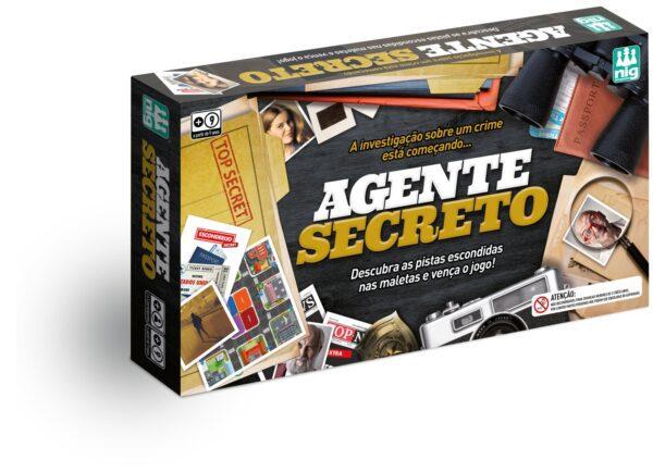 AGENTE SECRETO - CAIXA | NIG BRINQUEDOS
