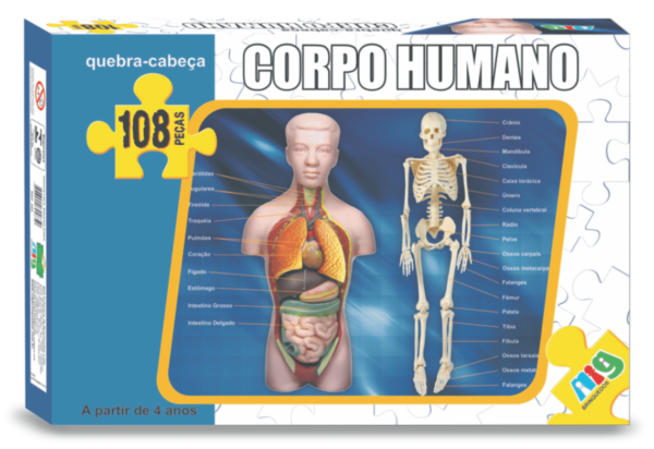 Corpo Humano - Nig Brinquedos