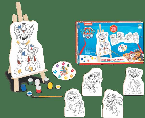 Kit de Pintura - Patrulha Canina | NIG Brinquedos