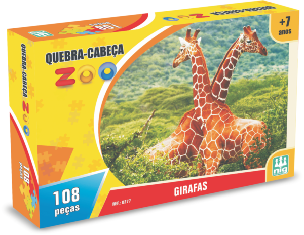 Zoo Girafas - NIG Brinquedos