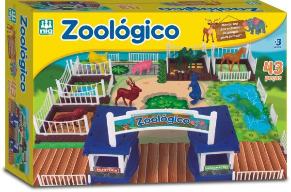 ZOOLÓGICO - CAIXA | NIG BRINQUEDOS