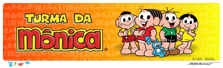 Banner- Turma da Mônica | NIG Brinquedos