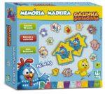 MEMÓRIA MADEIRA GALINHA PINTADINHA - CAIXA | NIG BRINQUEDOS