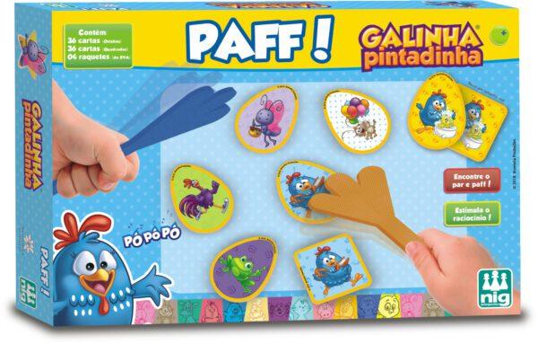 PAFF GALINHA PINTADINHA - CAIXA | NIG BRINQUEDOS
