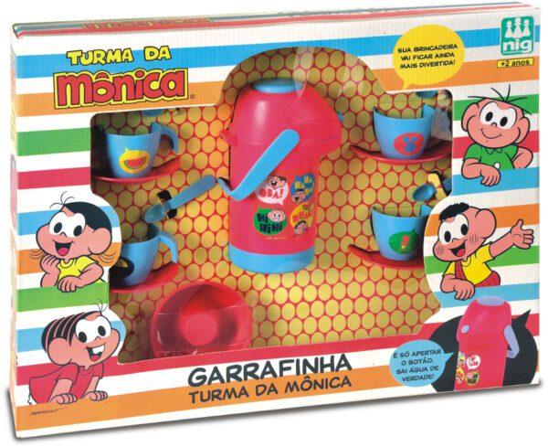 GARRAFINHA TURMA DA MÔNICA - CAIXA | NIG BRINQUEDOS