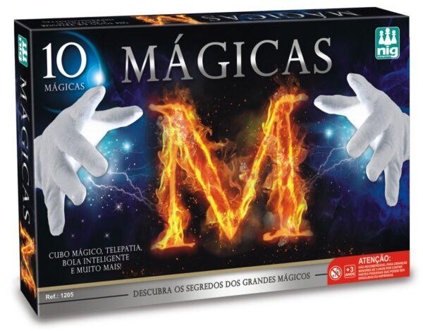 MÁGICAS M - CAIXA | NIG BRINQUEDOS