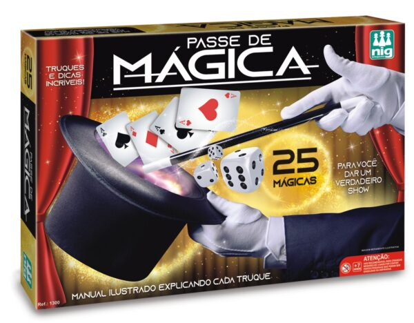 PASSE DE MÁGICA - CAIXA | NIG BRINQUEDOS