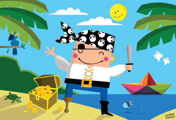 QC Pira, pira, piratinha - Luciano Martins | NIG Brinquedos
